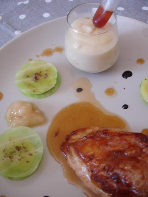 gers power ou quand le floc de gascogne rencontre l 39 ail de lomagne et le foie gras cook n. Black Bedroom Furniture Sets. Home Design Ideas